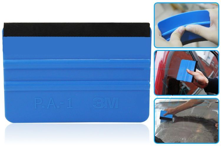 auto folien filzkante rakel blau rakel 3m p a 1 mit filz rakelfilz 3m ebay. Black Bedroom Furniture Sets. Home Design Ideas