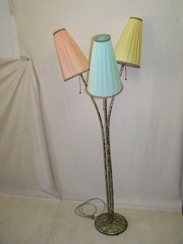 seltene ddr stehlampe 50er jahre t tenlampe vintage. Black Bedroom Furniture Sets. Home Design Ideas