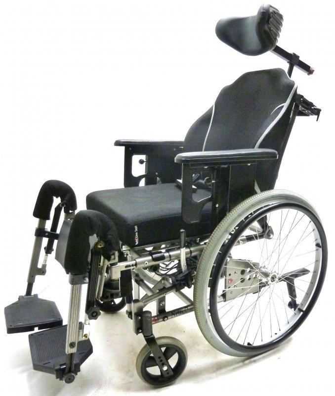 pflegerollstuhl alu rehab netti 3 elektrisch sitzkantelung. Black Bedroom Furniture Sets. Home Design Ideas