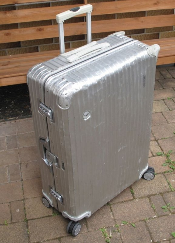 rimowa multiwheel trolley alu koffer silver integral silber aluminium 4 rollen ebay. Black Bedroom Furniture Sets. Home Design Ideas