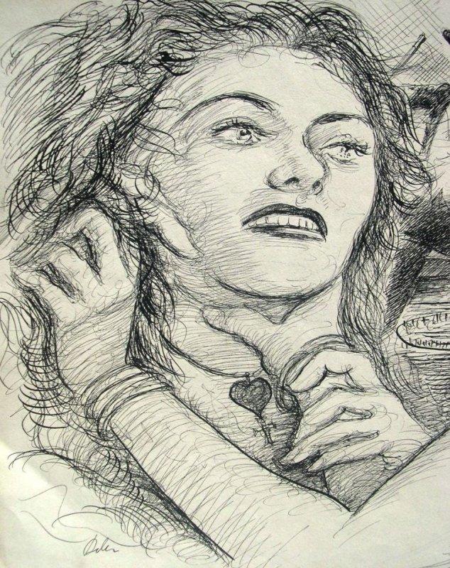 <b>Harry Behr</b>: zwei streitende Frauen und feiner Herr - 1c70010d389e39ee708a54d727e885927