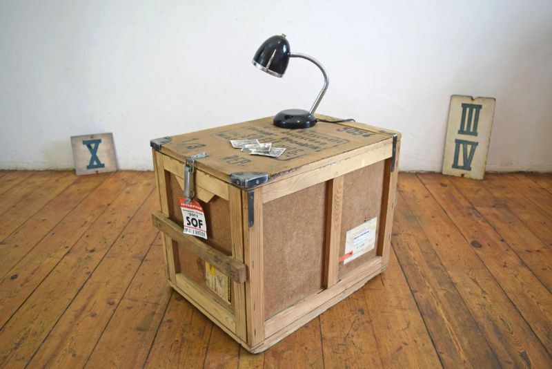 Kiste Als Couchtisch Kiste holzkiste antik vintage