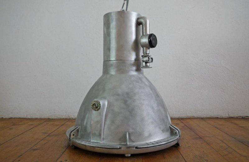 bunkerlampe h ngelampe industrielampe fabriklampe industrial lamp steampunk gro ebay. Black Bedroom Furniture Sets. Home Design Ideas