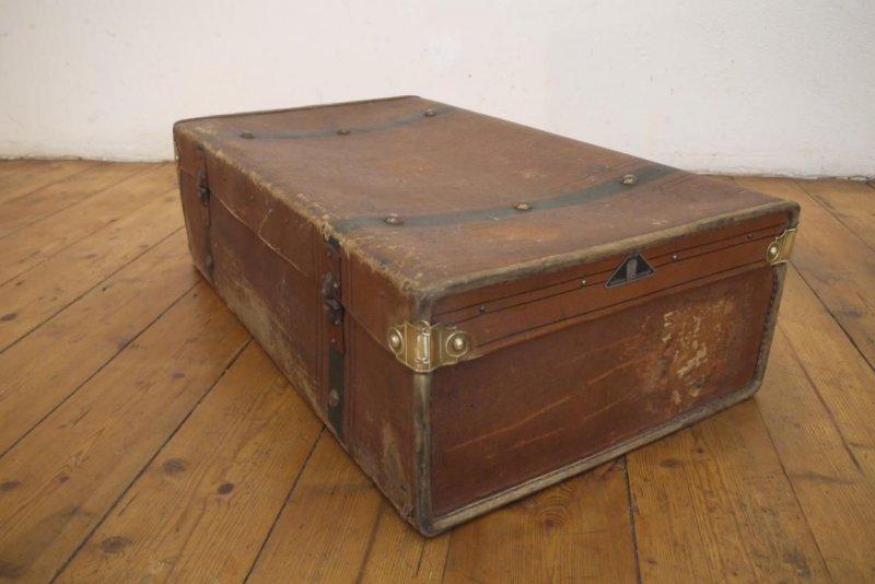 m bel maritim reisekoffer oldtimer antik alt shabby koffer. Black Bedroom Furniture Sets. Home Design Ideas