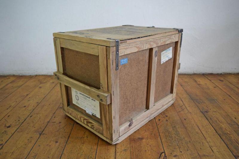 weitgereiste berseekiste kiste holz couchtisch frachtkiste crate alt antik loft ebay. Black Bedroom Furniture Sets. Home Design Ideas