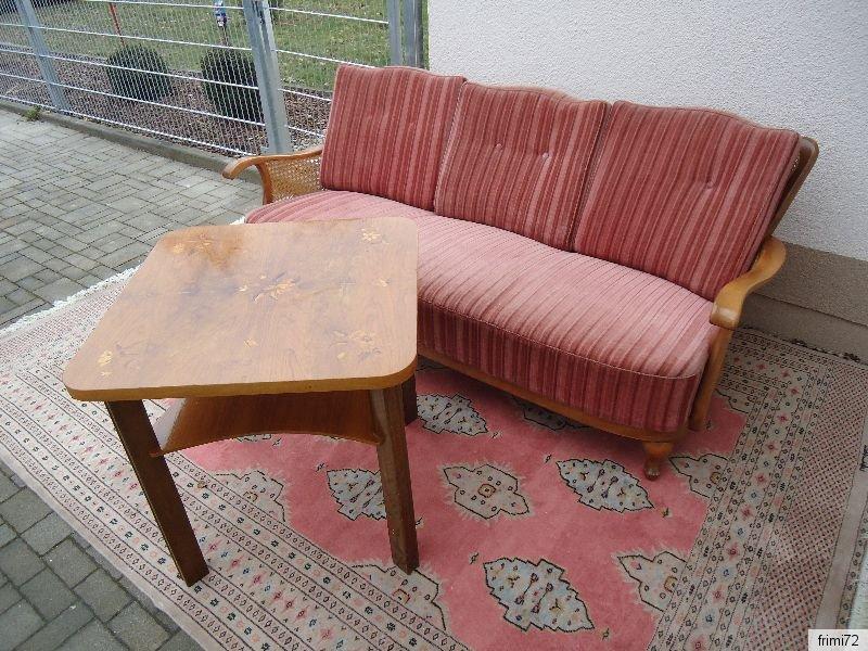 Englisches Chippendale Sofa Flieder Tisch Intarsiert Gewebterteppich 100 Wolle Ebay