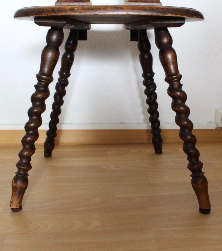 sch ne antike st hle gr nderzeit 19 jahrhundert schnitzereien gedrechselt ebay. Black Bedroom Furniture Sets. Home Design Ideas