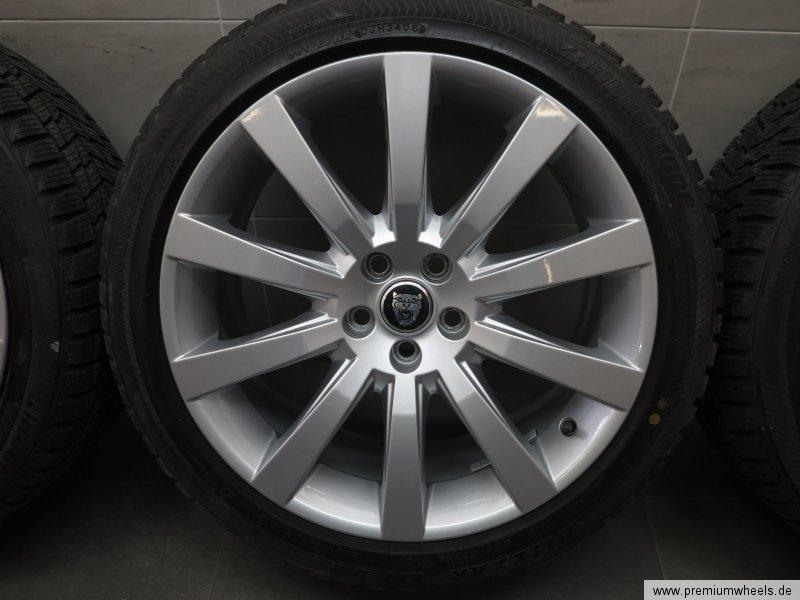 19 inch original winter wheels jaguar xf sportbrake xk winter tyres 6w83 1007 pa ebay. Black Bedroom Furniture Sets. Home Design Ideas