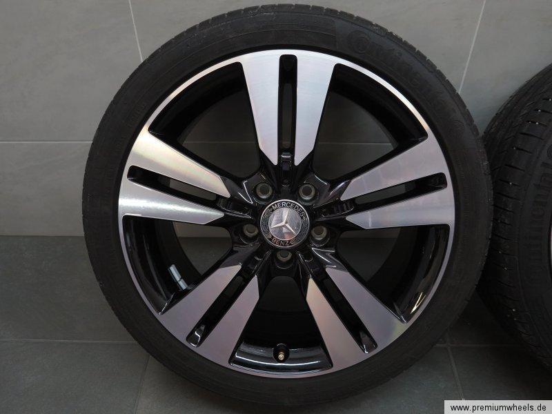 18 pouces pneus d 39 t originaux mercedes classe a w176 classe b w246 cla c117 ebay. Black Bedroom Furniture Sets. Home Design Ideas