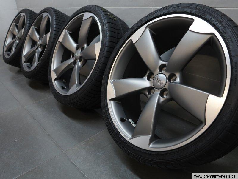 pneu t 18 pouces pour audi a1 s1 8x s line rotor jantes pneus d 39 t ebay. Black Bedroom Furniture Sets. Home Design Ideas