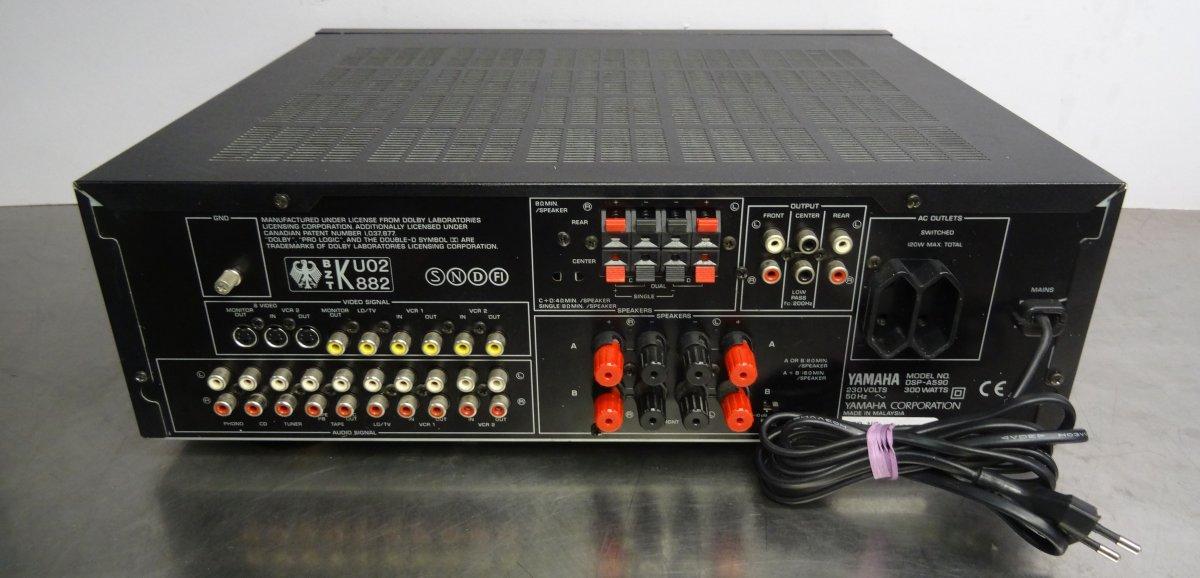 vintage hifi verst rker stereo amplifier yamaha dsp a590. Black Bedroom Furniture Sets. Home Design Ideas