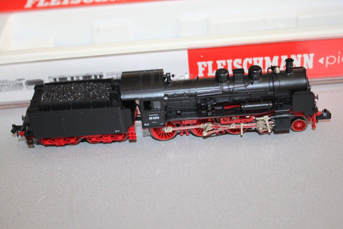 fleischmann 7159 dampflok baureihe 38 1373 spur n ovp ebay. Black Bedroom Furniture Sets. Home Design Ideas