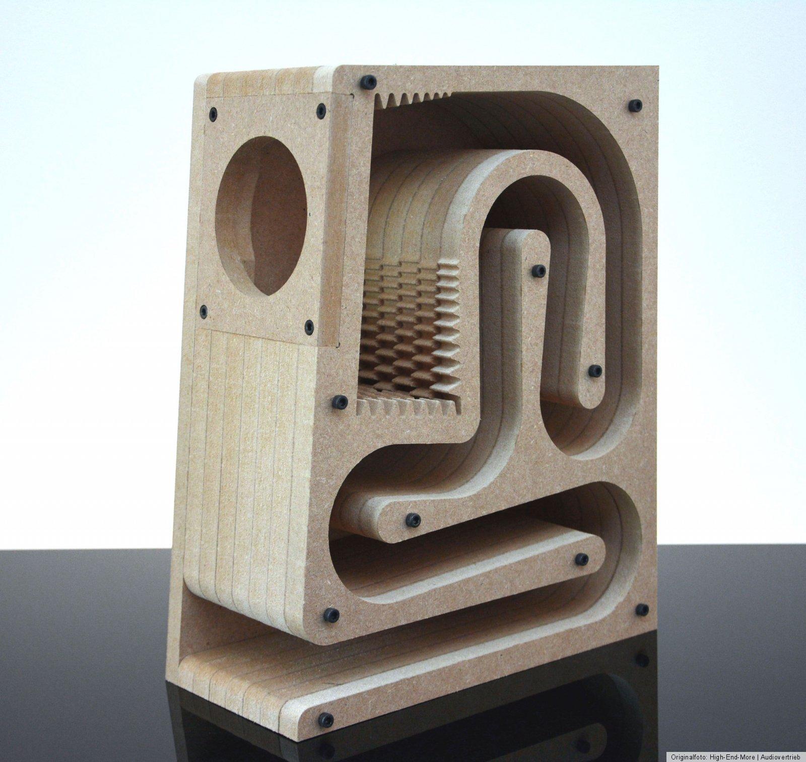 lautsprecher geh use transmission line hornsystem f r. Black Bedroom Furniture Sets. Home Design Ideas