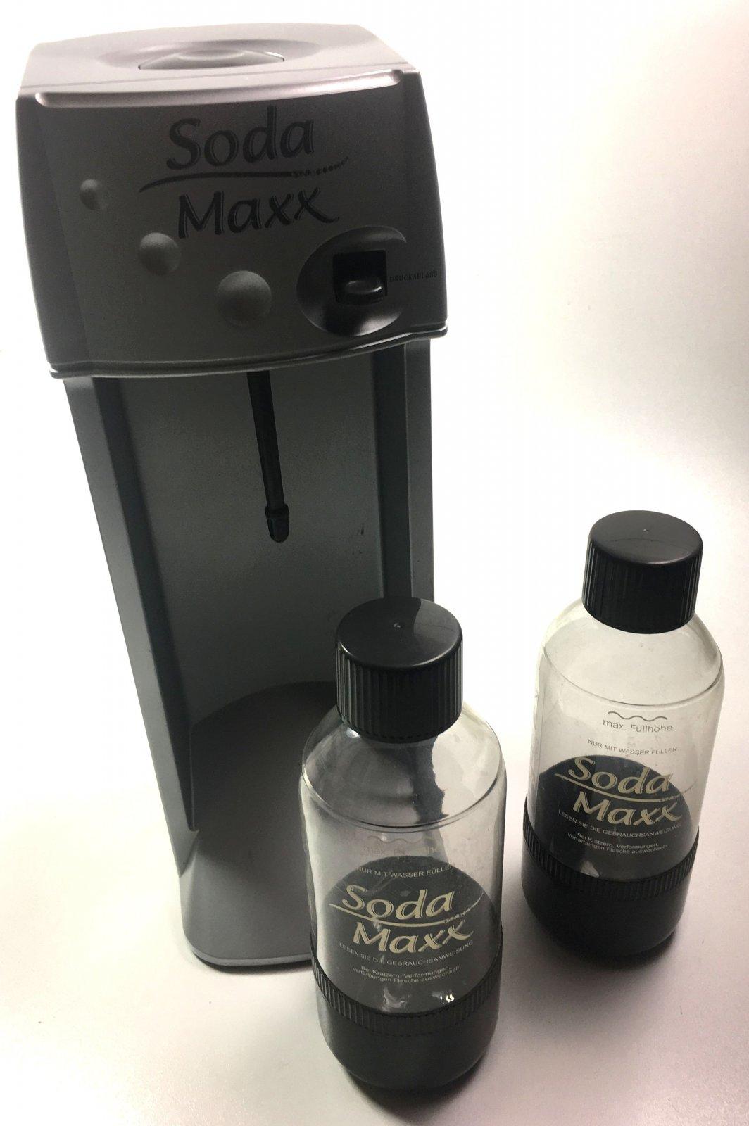 soda maxx sprudelger t sprudler gebraucht wasser aufbereitung haushalt schrott. Black Bedroom Furniture Sets. Home Design Ideas