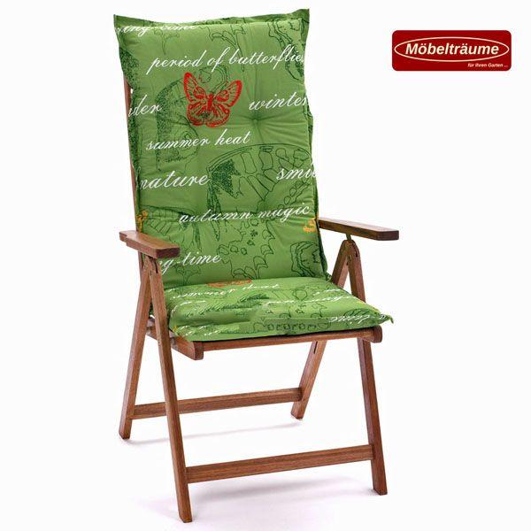 auflagen f r niedriglehner hochlehner relaxliegen liege sessel hoch und niedrig ebay. Black Bedroom Furniture Sets. Home Design Ideas