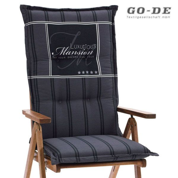 auflagen f r hochlehner sessel 120 x 50 cm 9 cm dick go de. Black Bedroom Furniture Sets. Home Design Ideas