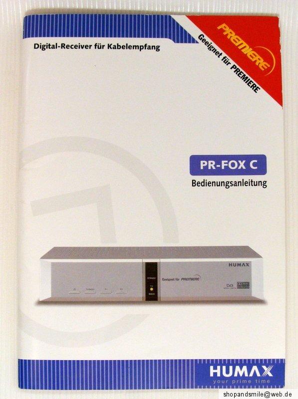 humax pr fox c firmware update - FREE ONLINE