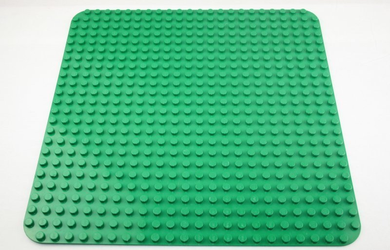 lego duplo bauplatte gro e gr ne platte 38x38 cm 24x24 noppen b ware ebay. Black Bedroom Furniture Sets. Home Design Ideas