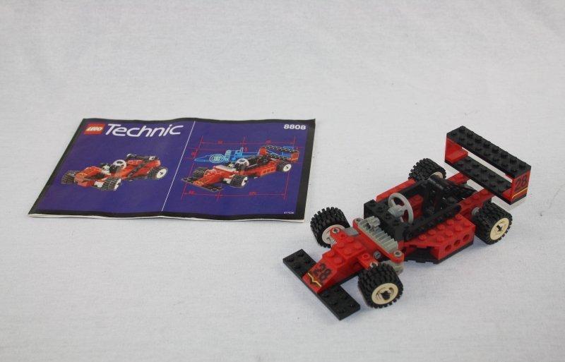 lego technic 8808 f1 formel 1 no 28 rennwagen auto mit. Black Bedroom Furniture Sets. Home Design Ideas