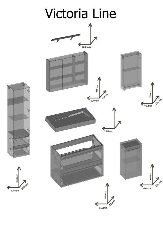 design badm bel set victoria badezimmer badset mit waschbecken weiss hochglanz naka24. Black Bedroom Furniture Sets. Home Design Ideas