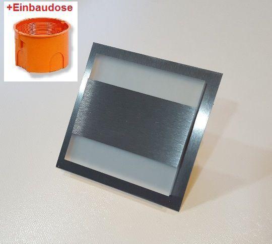 set led vive wand treppenbeleuchtung kalt 2w 230v 24 ws. Black Bedroom Furniture Sets. Home Design Ideas