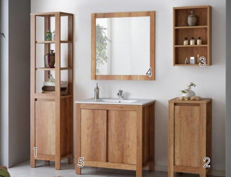 badm bel set classic 80 badezimmer badm bel mit waschbecken badezimmerm bel naka24. Black Bedroom Furniture Sets. Home Design Ideas