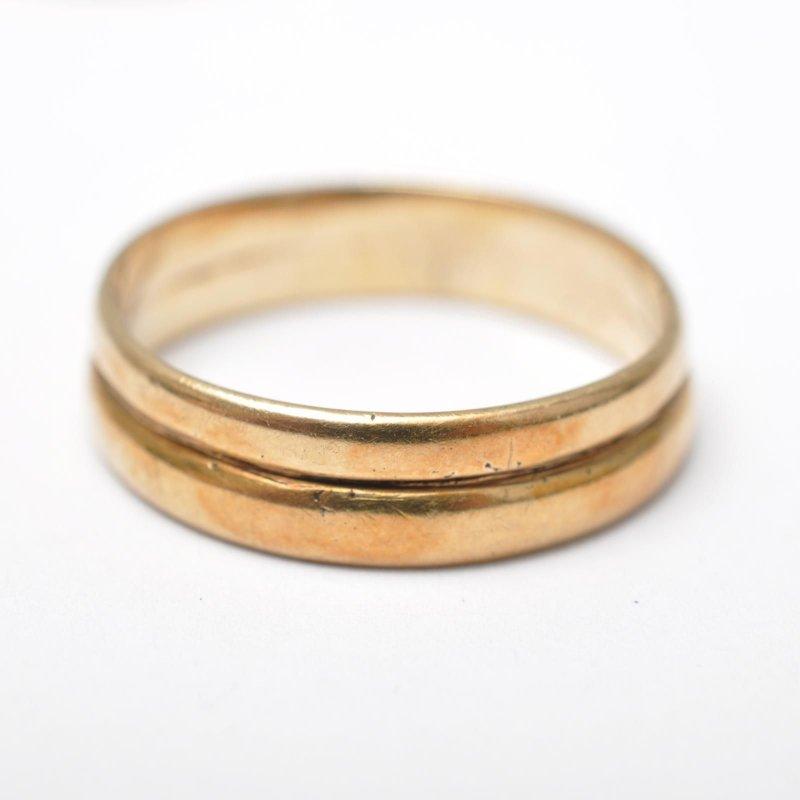 Details zu Konvolut alte Gold Ringe / Eheringe, 8 Karat / 333 Gelbgold ...