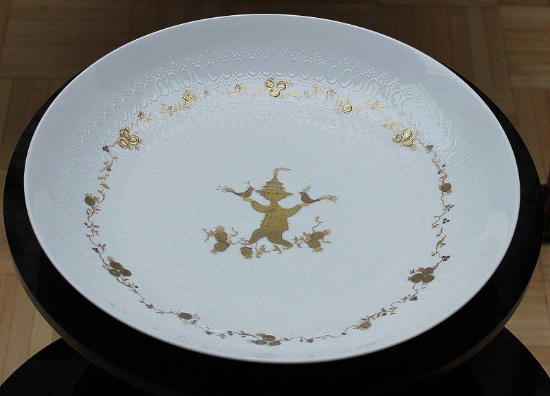 rosenthal porcelaine bol assiette romance bj rn wiinblad. Black Bedroom Furniture Sets. Home Design Ideas