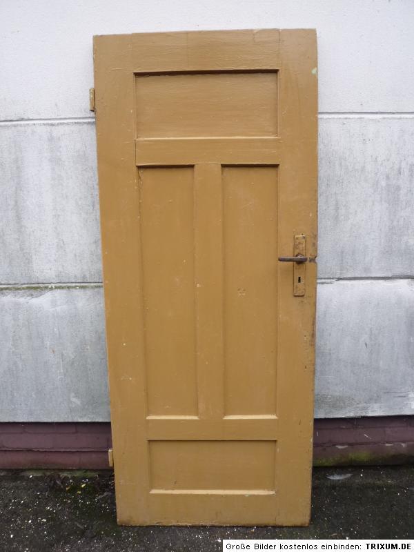 alte t r zimmert r kassettent r holzt r antik old door ca 79 5 x 189 cm ebay. Black Bedroom Furniture Sets. Home Design Ideas