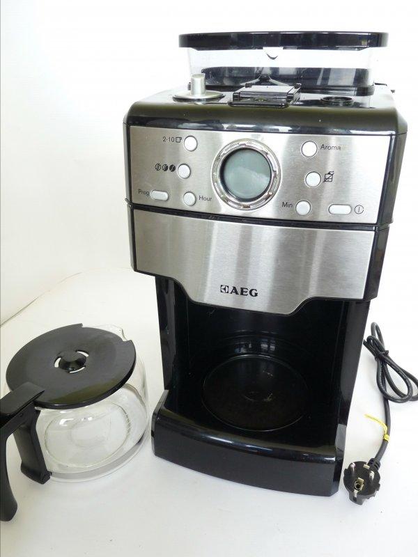 Aeg kam300 kaffeeautomat fresh aroma 1000 watt mahlwerk for Aeg kaffeeautomat