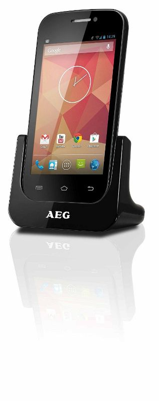 aeg schnurloses 4 dect telefon mit touchscreen android betriebssystem smart 64 ebay. Black Bedroom Furniture Sets. Home Design Ideas