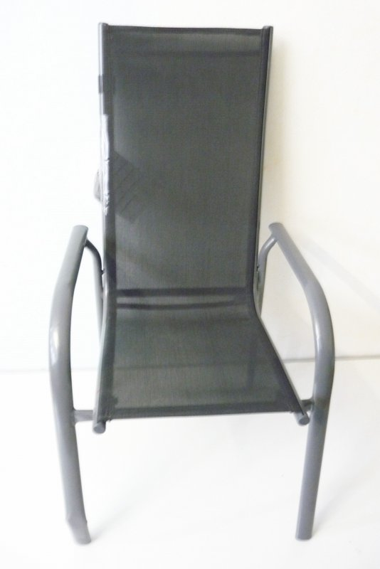 Ultranatura gartenstuhl stapelbar grau stuhl sonnenstuhl - Outdoor stuhle stapelbar ...