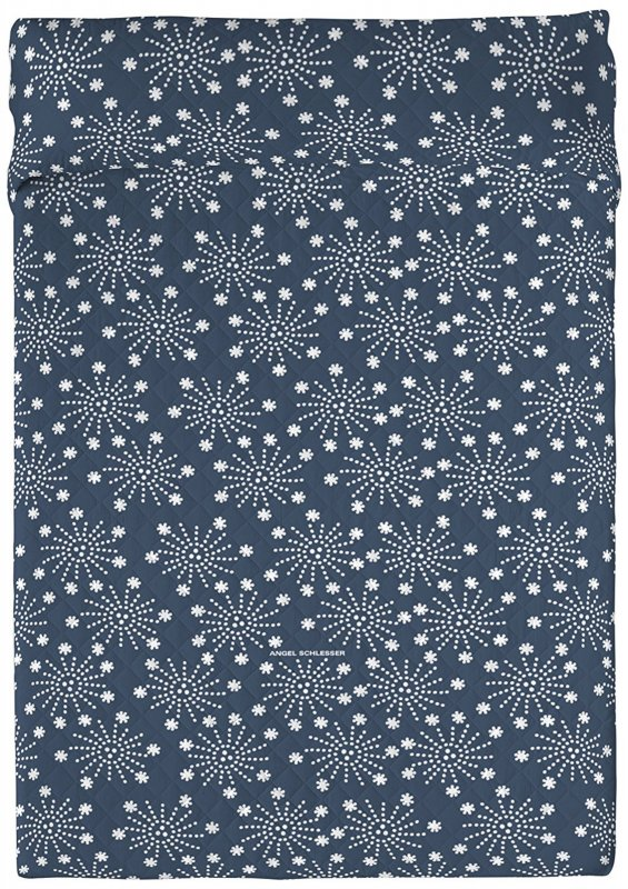 angel schlesser tagesdecke 240 x 260cm dunkelblau 240 260 decke berwurf i f11. Black Bedroom Furniture Sets. Home Design Ideas