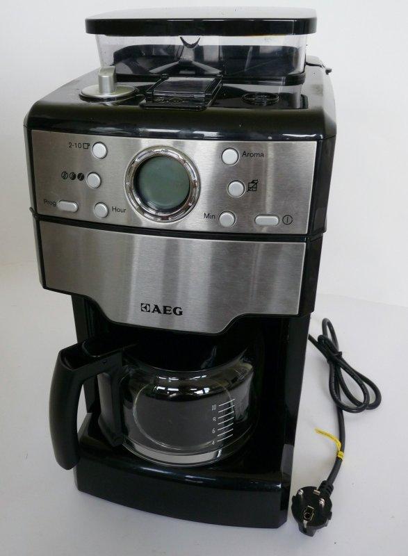 aeg kam300 kaffeeautomat fresh aroma 1000 watt mahlwerk mahlgradeinstellungen ebay. Black Bedroom Furniture Sets. Home Design Ideas