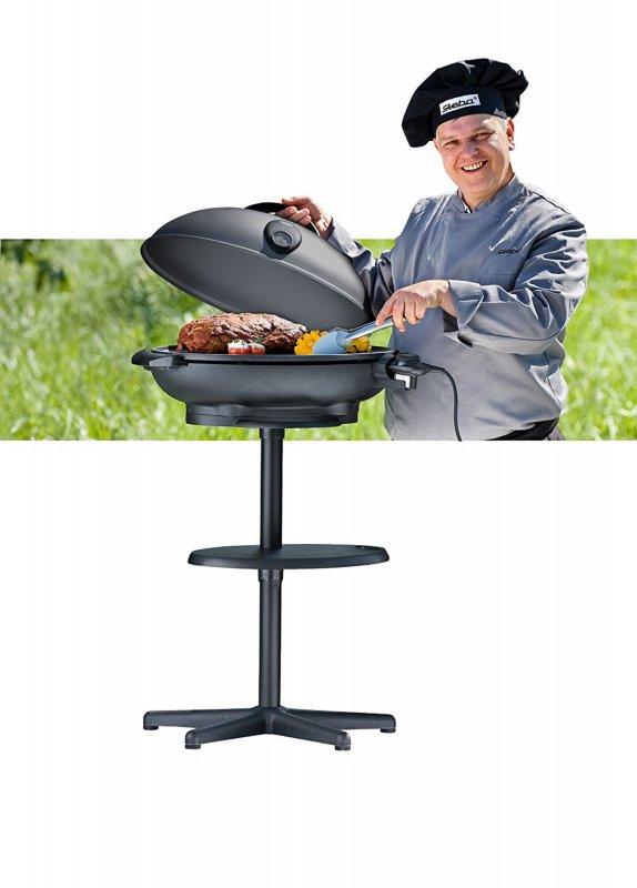steba vg 350 big barbecue s ulengrill mit haube. Black Bedroom Furniture Sets. Home Design Ideas