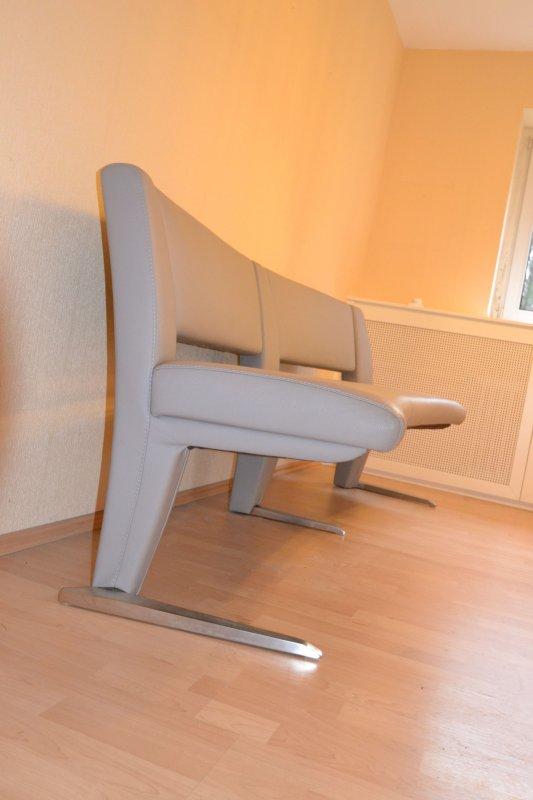 gro er esstisch buche mit sitzbank 4 st hlen lederbezug neupreis 2013 4300 ebay. Black Bedroom Furniture Sets. Home Design Ideas