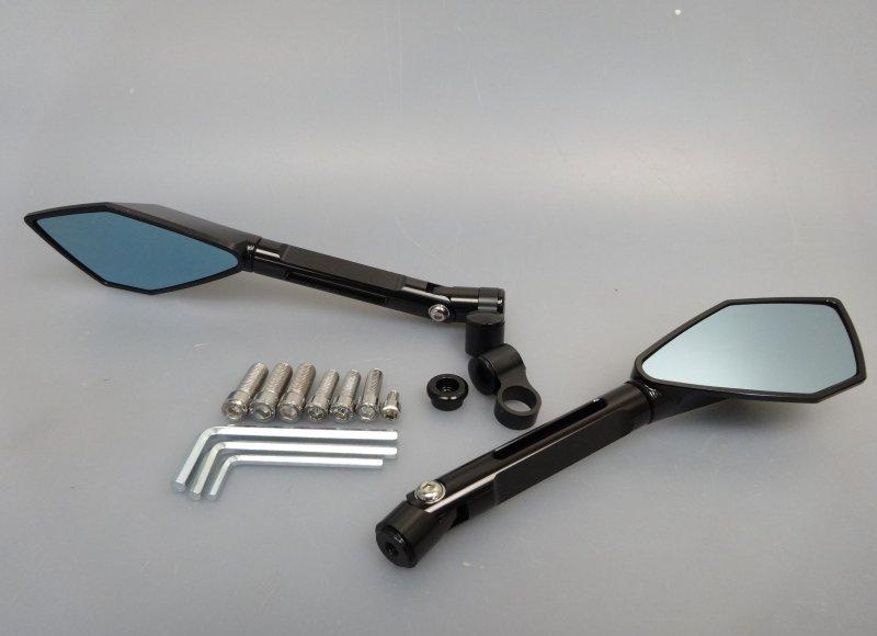 Kawasaki z900 cnc alu spiegel lenkerspiegel schwarz mirror for Spiegel 40 2017