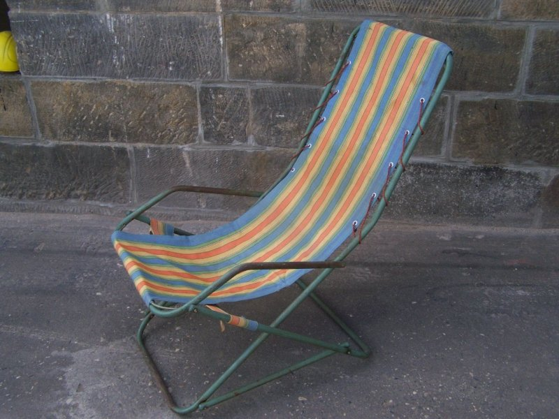 Ddr klappstuhl campingstuhl kult retro stuhl 70er jahre for Schaukelstuhl ddr