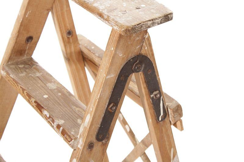 alte holzleiter klappleiter treppenleiter kult vintage blumenbank holz leiter pirna. Black Bedroom Furniture Sets. Home Design Ideas