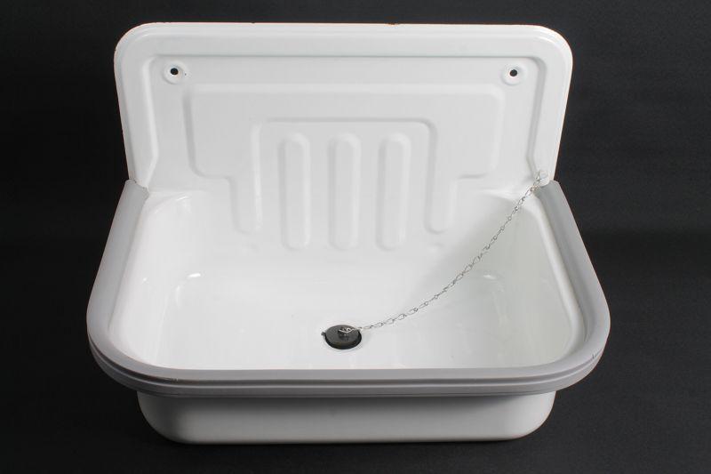 sublime ancien mail courriel lavabo bac vier bassin vier wc blanc ebay. Black Bedroom Furniture Sets. Home Design Ideas