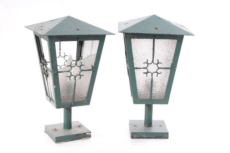 ancienne ddr luminaire d 39 ext rieur lampe de jardin clairage ext rieur ebay. Black Bedroom Furniture Sets. Home Design Ideas
