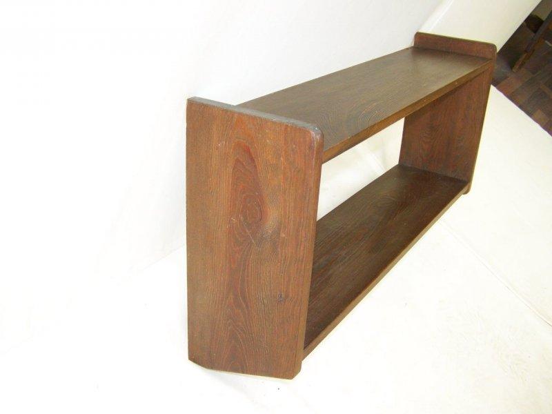gro es altes k chenregal regal k che antik holz wandregal ebay. Black Bedroom Furniture Sets. Home Design Ideas