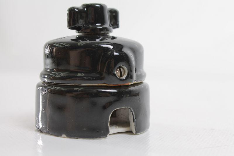 ancien interrupteur porcelaine siemens informatique art