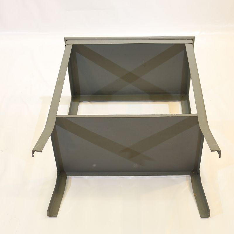 Sublime ancien tag re de cuisine placard m tal meuble cuisine ebay - Meuble cuisine en metal ...