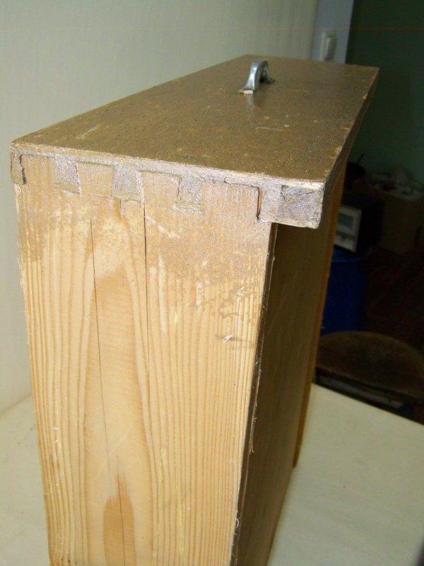 Vieux tiroir en bois tiroir pour armoire table de travail for Table de travail bois