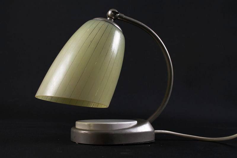 Alte nachttischlampe wohnzimmer vintage lampe art deko for Wohnzimmer 40er jahre