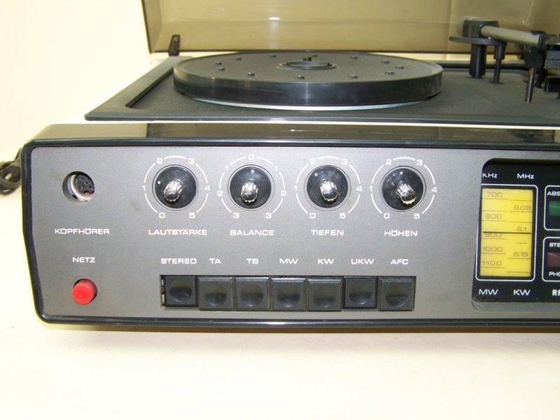 Ancien ddr tourne disque set 4001 robotron ampli pour radio tuner tourne disq - Ampli pour tourne disque ...
