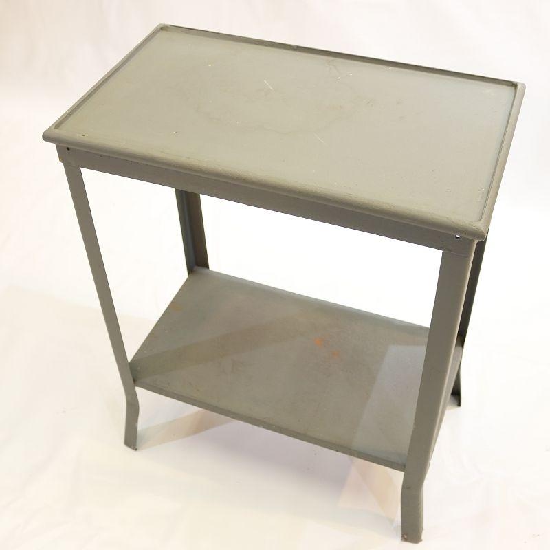 Sublime ancien tag re de cuisine placard m tal meuble for Meuble cuisine metal