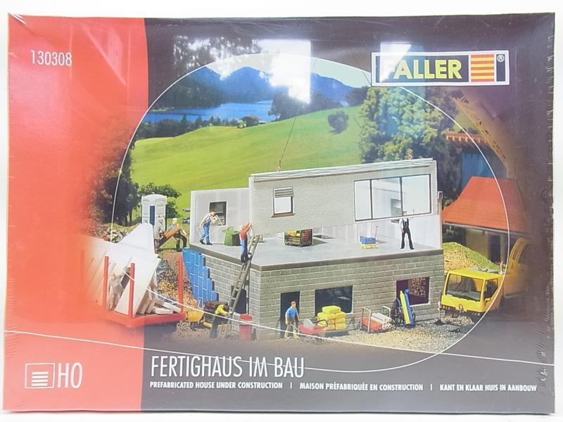 lot 11154 faller ho 130308 fertighaus im bau haus house bausatz neu ovp ebay. Black Bedroom Furniture Sets. Home Design Ideas