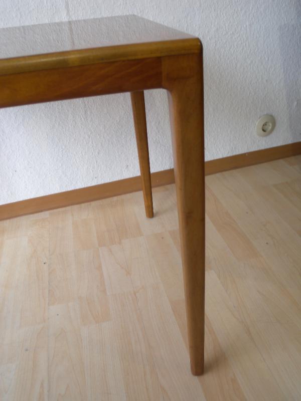 50er wilkhahn beistelltisch tisch design hartmut lohmeyer for Tisch kirschbaum